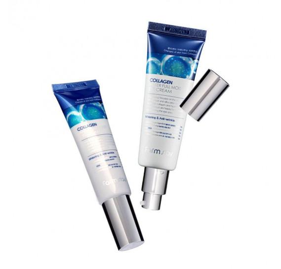 Увлажняющий крем для кожи вокруг глаз с коллагеном FarmStay Collagen Water Full Moist Eye Cream FARMSTAY 50 мл