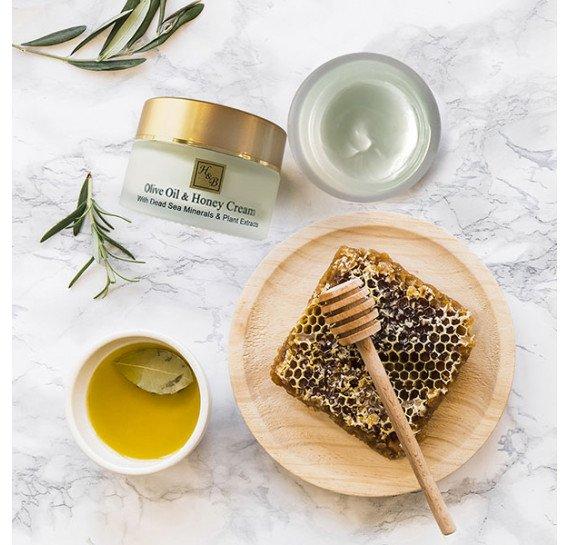 Крем с медом и оливковым маслом SPF-20 Health & Beauty 50 мл