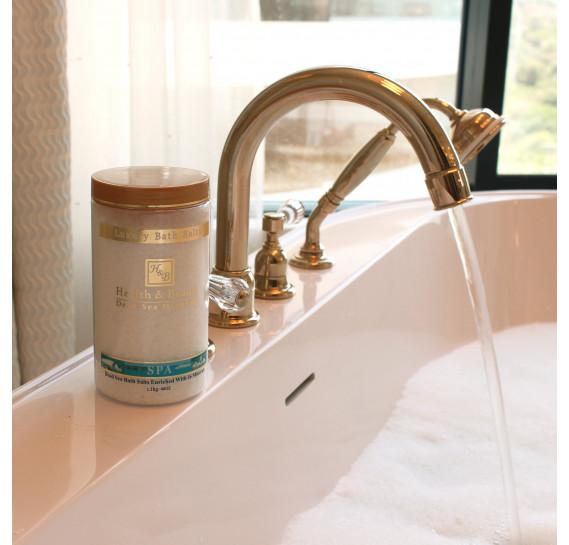 Соль Мертвого моря для принятия ванн (НАТУРАЛЬНАЯ - 1,3 кг) Health & Beauty 1300 г