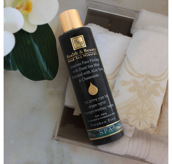 Жидкий пилинг для лица с грязью Mёртвого моря Health & Beauty 250 мл