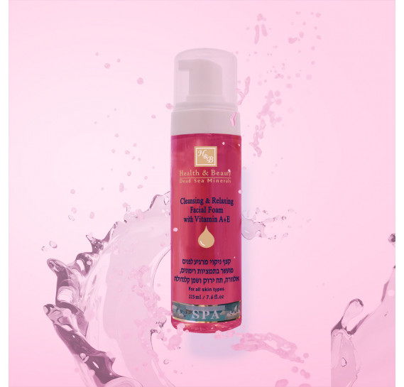 Очищающий и расслабляющий мусс для лица Health & Beauty 225 мл