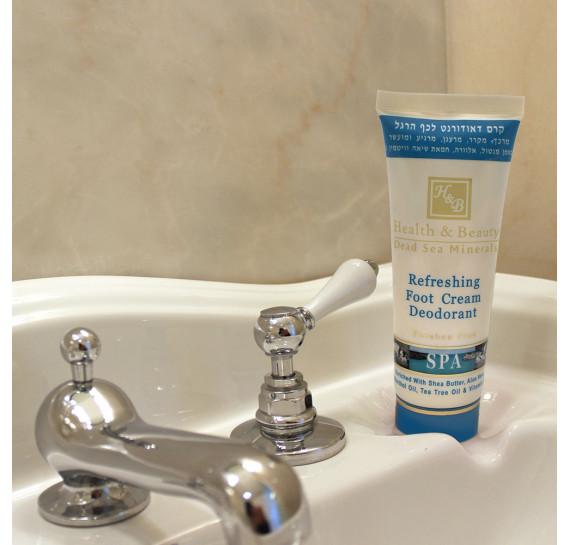 Крем-дезодорант для ног с охлаждающим эффектом Health & Beauty 100 мл