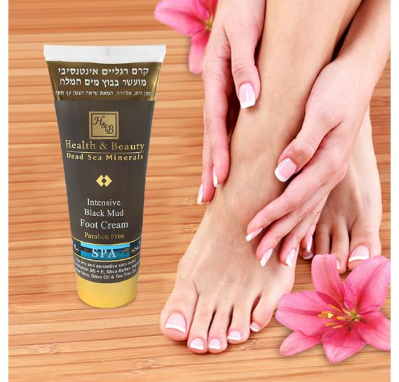 Интенсивный крем для ног обогащенный грязями Мертвого моря (200 мл) Health & Beauty