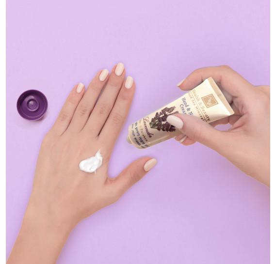 Мультивитаминный крем для рук и ногтей (ЛАВАНДА) Health & Beauty 100 мл