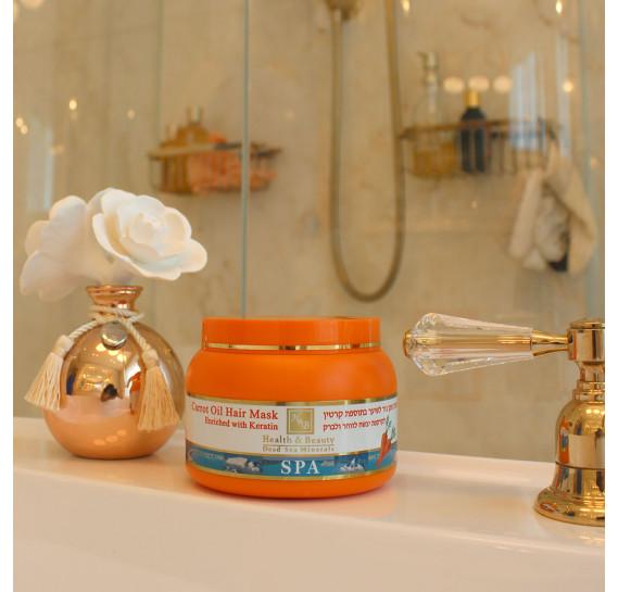Грязевая маска для волос с морковным маслом Health & Beauty 250 мл