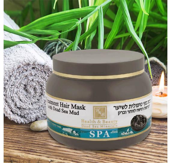 Лечебная маска для волос с грязью Мёртвого моря Health & Beauty 250 мл