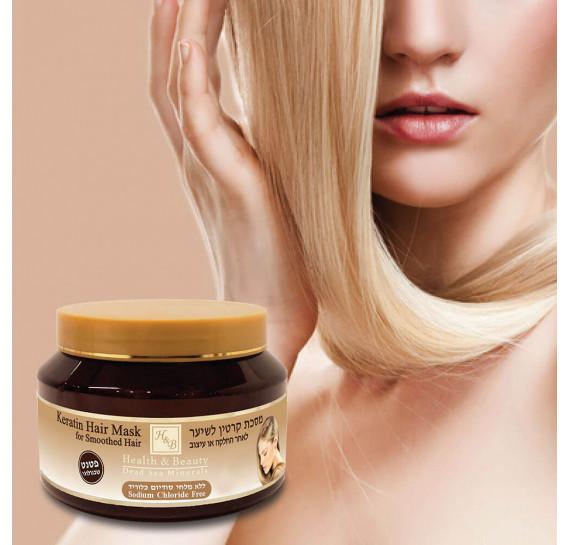Маска с кератином для волос после термического воздействия Health & Beauty 500 мл