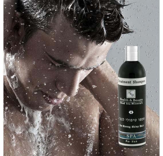 Шампунь для мужчин Health & Beauty 400 мл