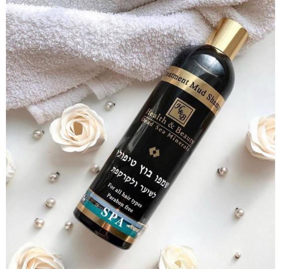 Шампунь с лечебными грязями для волос и кожи головы Health & Beauty 400 мл
