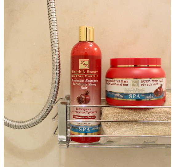 Укрепляющий шампунь для здоровья и блеска волос с экстрактом граната (400мл) Health & Beauty 400 мл