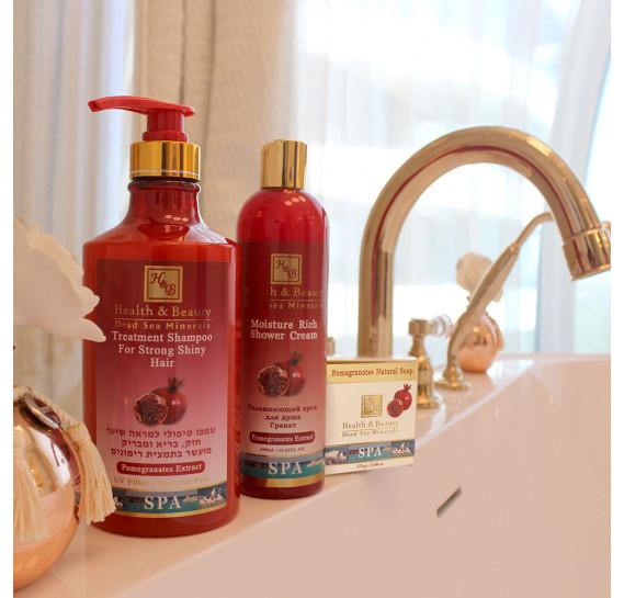 Укрепляющий шампунь для здоровья и блеска волос с экстрактом граната (780мл) Health & Beauty 780 мл