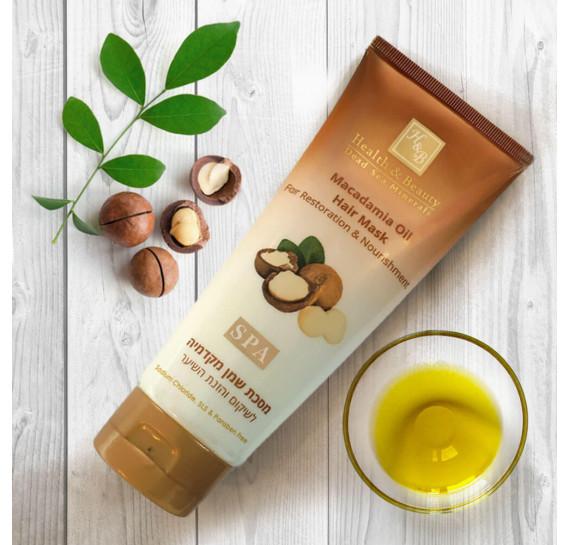 Маска для восстановления и питания волос с маслом Макадамии Health & Beauty 200 мл
