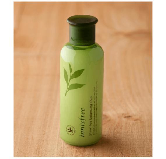 Балансирующий тоник с экстрактом зелёного чая Innisfree Green Tea Blancing Skin  INNISFREE 200 мл