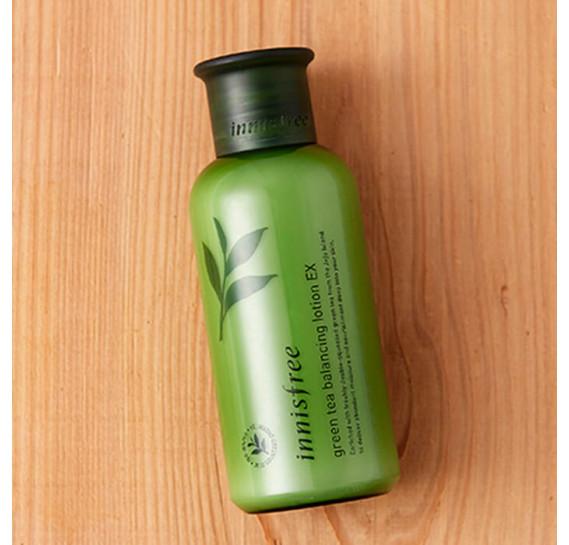 Увлажняющий лосьон для лица с экстрактом зеленого чая Innisfree Green Tea Balancing Lotion INNISFREE 160 мл