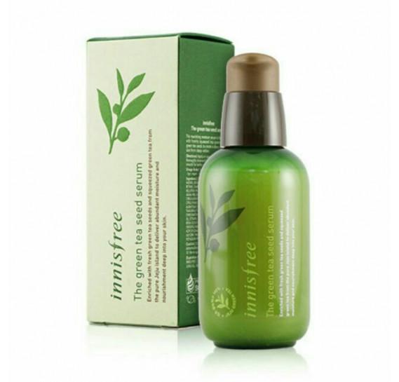 Интенсивная увлажняющая сыворотка на основе семян зеленого чая Innisfree The green tea seed serum INNISFREE 80 мл