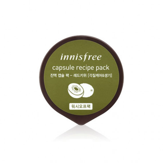 Маска Восстанавливающая С Экстрактом Киви Innisfree Capsule Recipe Pack Red Kiwi INNISFREE 10 мл