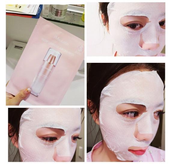 Целлюлозная маска с жемчугом для сияния JMsolution Glow Luminous Aurora Mask JMSolution 30 мл