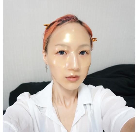 Омолаживающая гидрогелевая маска для лица с золотом и маточным молочком Koelf Gold & Royal Jelly Mask 30 мл