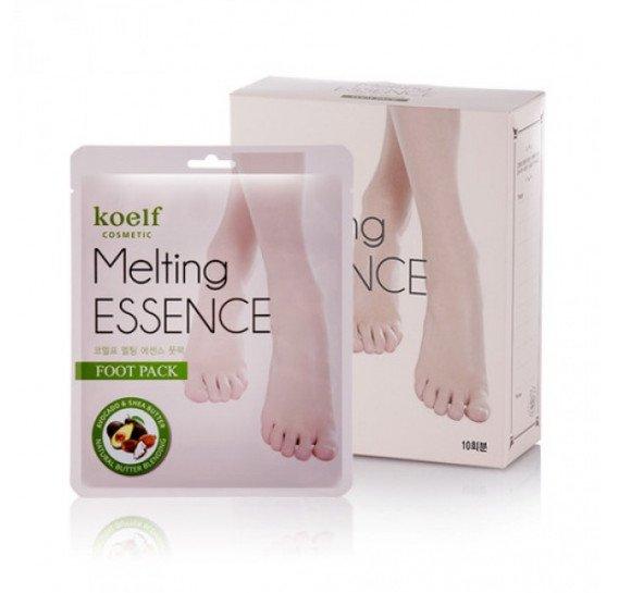 Маска-носочки для ног с маслами и экстрактами Koelf Melting Essence Foot Pack 16 мл