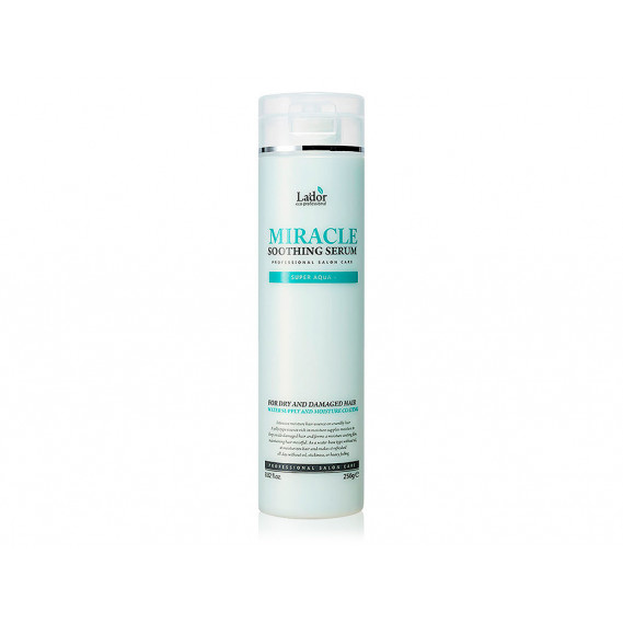 Ультраувлажняющая сыворотка для поврежденных волос с термозащитой La'dor Miracle Soothing Serum 250 мл