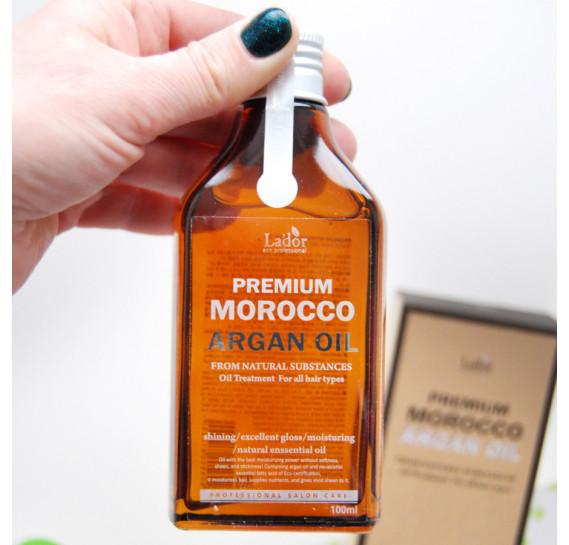 Восстанавливающее аргановое масло для волос La'dor Premium Argan Hair Oil - 100 мл