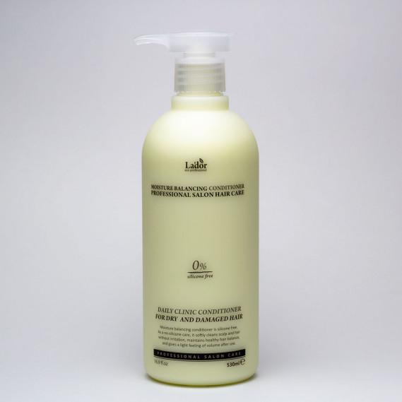 Кондиционер увлажняющий оздоравливающий для поврежденных волос La'dor Moisture Balancing Conditioner 530 мл