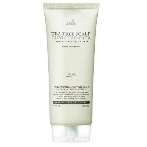 Маска-пилинг для кожи головы с чайным деревом La'dor  Tea Tree Scalp Hair Pack 200 мл