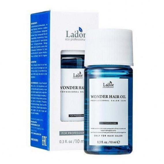 Увлажняющее масло для восстановления и блеска волос Lador Wonder Hair Oil MINI La'dor 10 мл