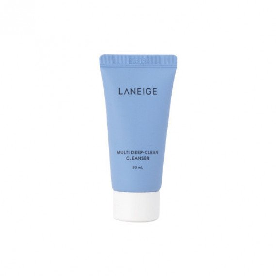 Глубоко-очищающая пенка LANEIGE Multi deep -Clean Cleanser MINI Laneige 30 мл