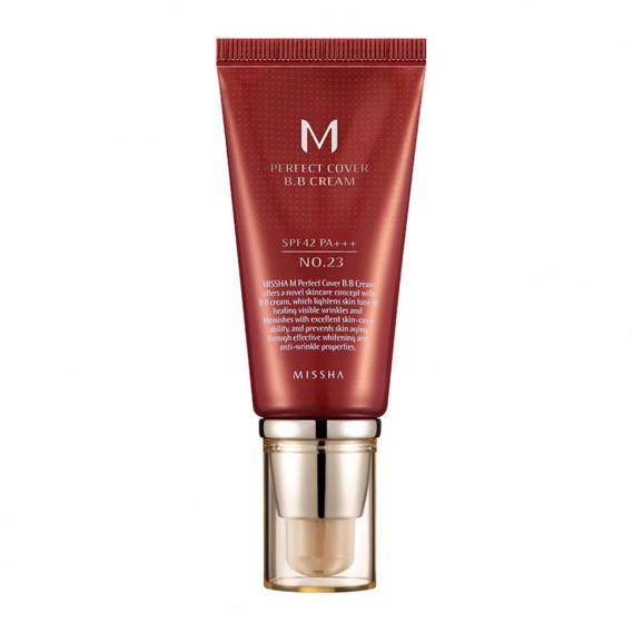 Матирующий ВВ Крем с идеальным покрытием Missha M Perfect Cover BB Cream SPF42 PA+++ #23 (50 мл) MISSHA