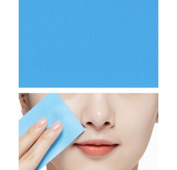 Салфетки для лица устраняющие жирный блеск Missha Oil Control Film Blue MISSHA 50 шт