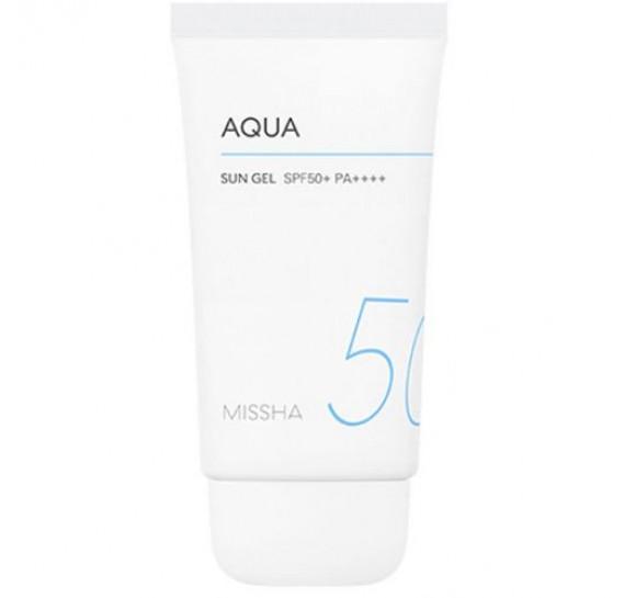 Солнцезащитный гель с экстрактом хризантемы Missha All Around Safe Block Aqua Sun Gel SPF50+/PA++++ MISSHA 50 мл