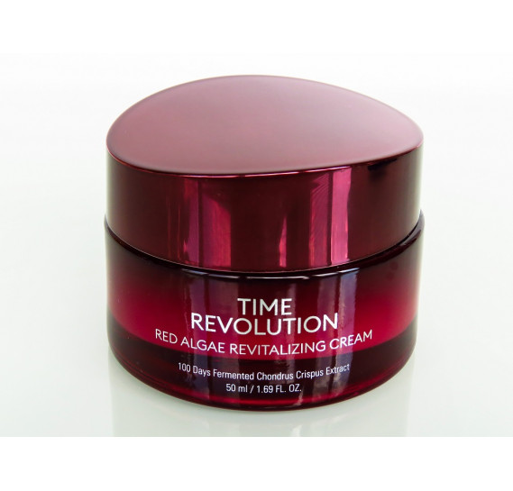 Интенсивный лифтинговый крем для лица Missha Time Revolution Red Algae Revitalizing Cream MISSHA 50 мл