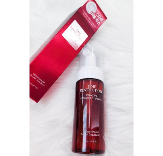 Антивозрастная очищающая пенка Missha Time Revolution Red Algae O2 Bubble Cleanser MISSHA 150 мл