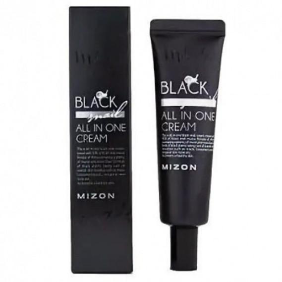 Омолаживающий крем для лица c экстрактом черной улитки Mizon Black Snail All In One Cream 35 ml 35 мл