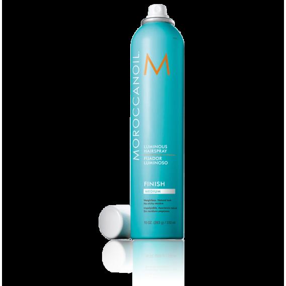 Сияющий лак для волос средней фиксации Moroccanoil 330 мл