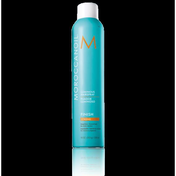 Сияющий лак для волос сильной фиксации Moroccanoil 330 мл