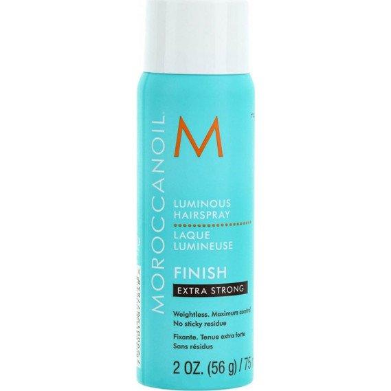 Сияющий лак для волос экстра-сильной фиксации 75 мл Moroccanoil