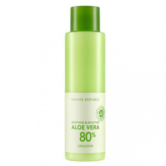 Увлажняющая эмульсия с алоэ вера Nature Republic Soothing & Moisture Aloe Vera 80% emulsion NATURE REPUBLIC 160 мл