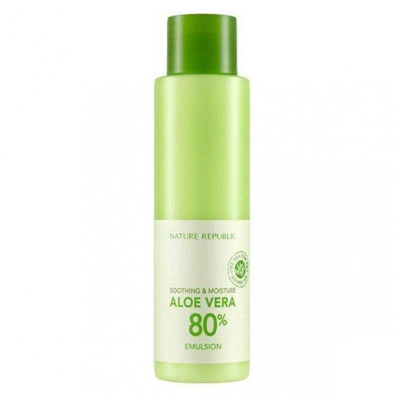 Увлажняющая эмульсия с алоэ вера Nature Republic Soothing & Moisture Aloe Vera 80% emulsion NATURE REPUBLIC 160 мл