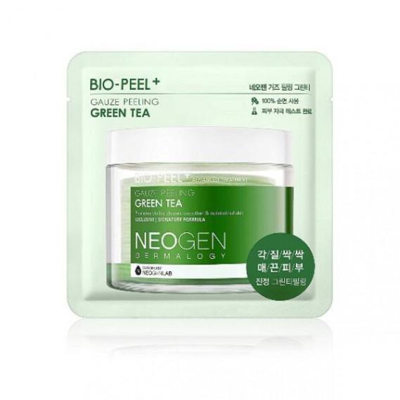 Успокаивающие пилинг-пэды с зеленым чаем Neogen Dermatology Bio-Peel Gauze Peeling Green Tea, 1шт NEOGEN 1 шт