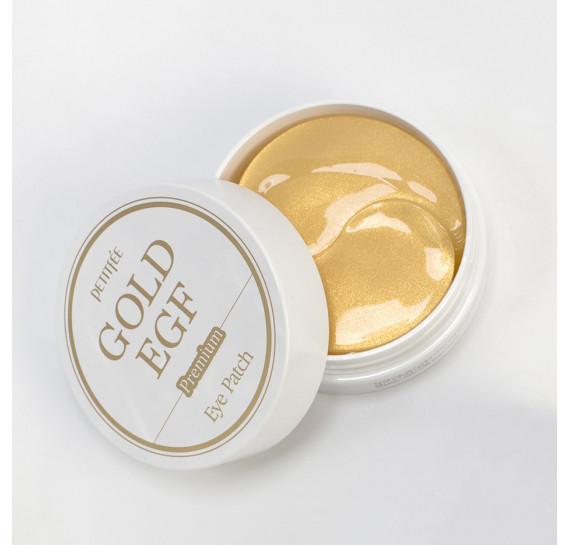Омолаживающие гидрогелевые патчи для глаз Petitfee Premium Gold & EGF Eye Patch PETITFEE 60 шт