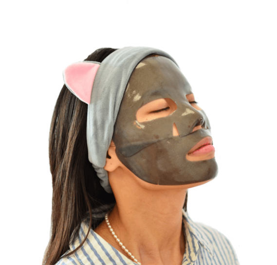 Укрепляющая гидрогелевая маска для лица с черным жемчугом Petitfee Black Pearl & Gold Hydrogel Mask Pack PETITFEE 30 мл