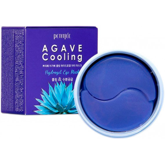 Охлаждающие гидрогелевые патчи с экстрактом агавы Petitfee Agave Cooling Hydrogel Eye Mask PETITFEE 60 шт