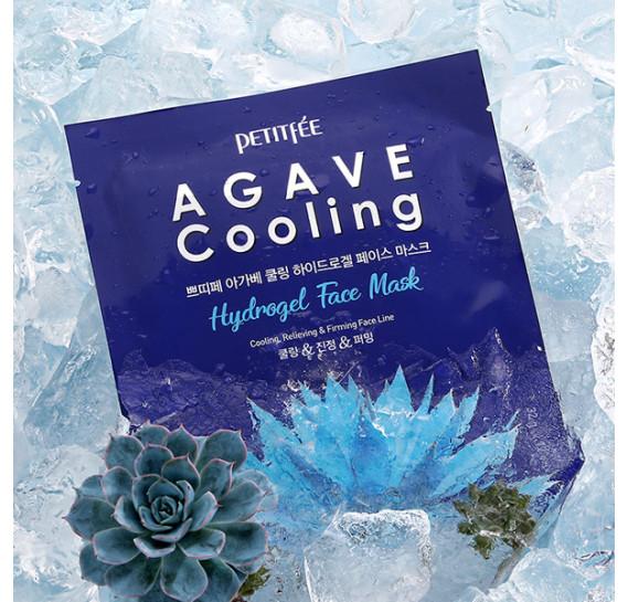 Охлаждающая гидрогелевая маска с экстрактом агавы Petitfee Agave Cooling Hydrogel Face Mask PETITFEE 30 мл