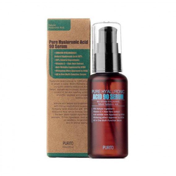 Сыворотка с 90% гиалуроновой кислоты для интенсивного увлажнения Purito Pure Hyaluronic Acid 90 Serum 60 мл