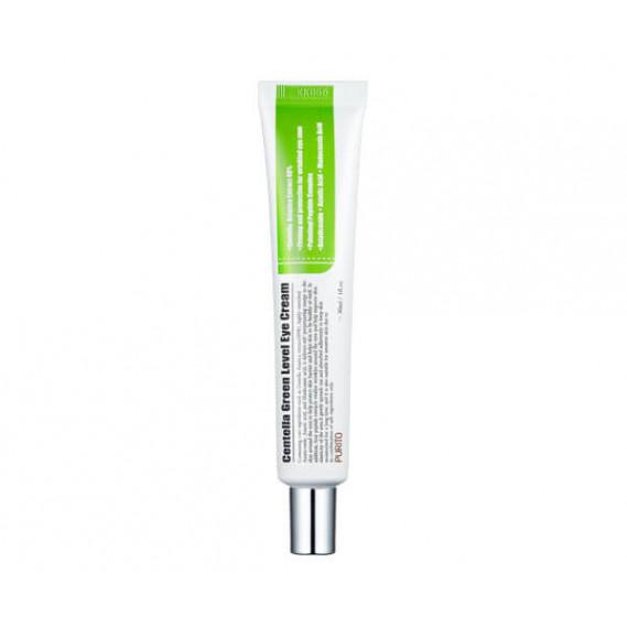 Подтягивающий крем для век с пептидами и центеллой Purito Centella Green Level Eye Cream 30 мл