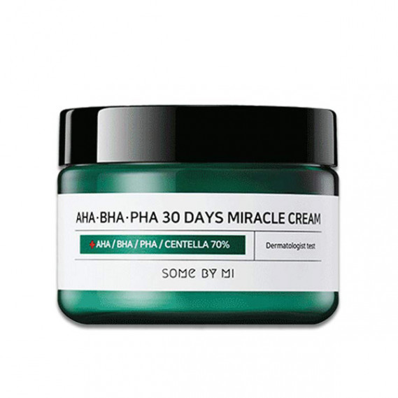 Восстанавливающий крем для проблемной кожи Some By Mi AHA-BHA-PHA 30 Days Miracle Cream 50 мл