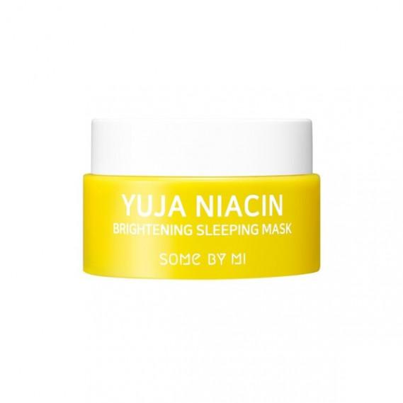 Осветляющая ночная маска с экстрактом юдзу Мини Some By Mi Yuja Niacin Brightening Sleeping Mask 15 мл