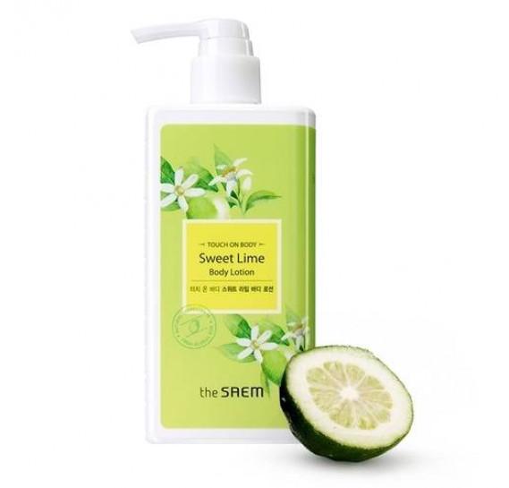 Увлажняющий лосьон для тела с лаймом The Saem Touch On Body Sweet Lime Body Lotion THE SAEM 300 мл